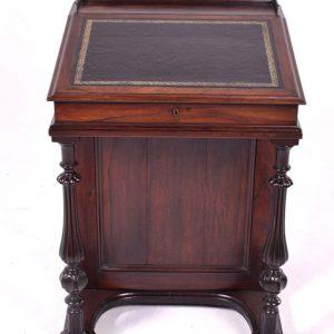 Escrivaninha em Pau Santo de época Vitoriana -1